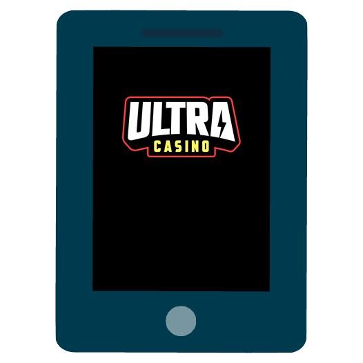 UltraCasino - Mobile friendly