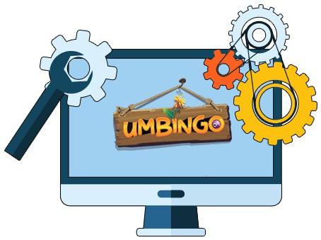 Umbingo Casino - Software