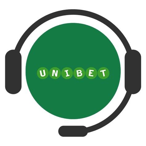 Unibet Casino - Support