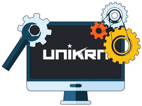 Unikrn - Software