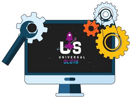Universal Slots Casino - Software