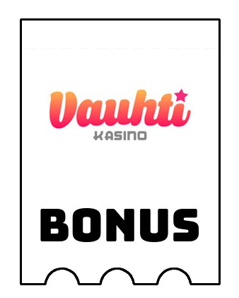 Latest bonus spins from Vauhti