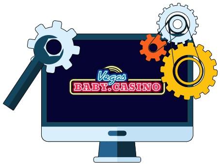 Vegas Baby Casino - Software