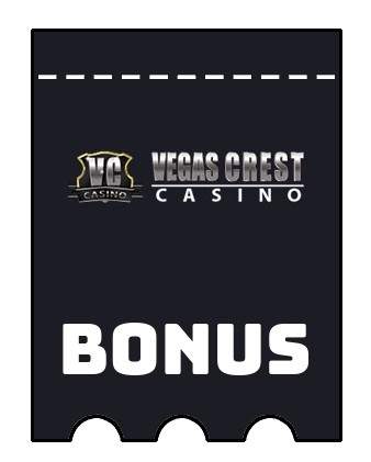 Latest bonus spins from Vegas Crest Casino