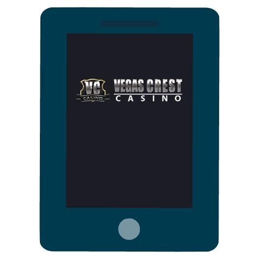 Vegas Crest Casino - Mobile friendly
