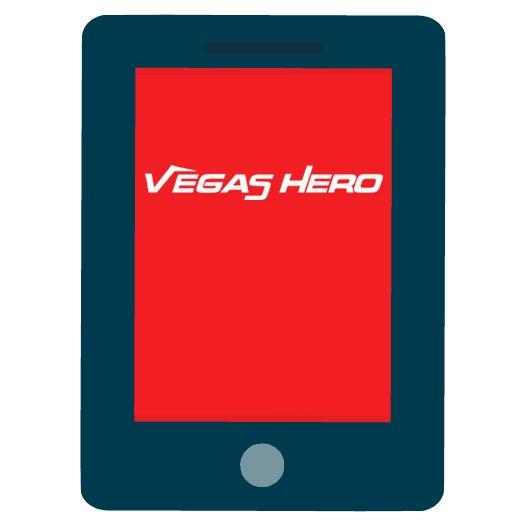Vegas Hero Casino - Mobile friendly