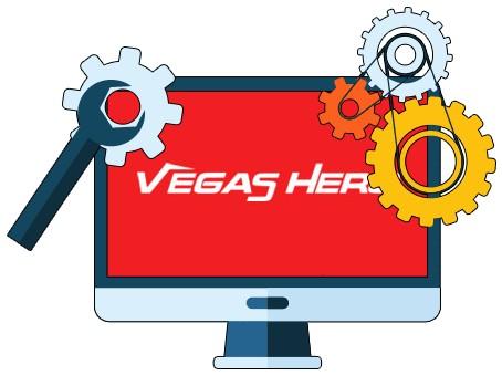 Vegas Hero Casino - Software