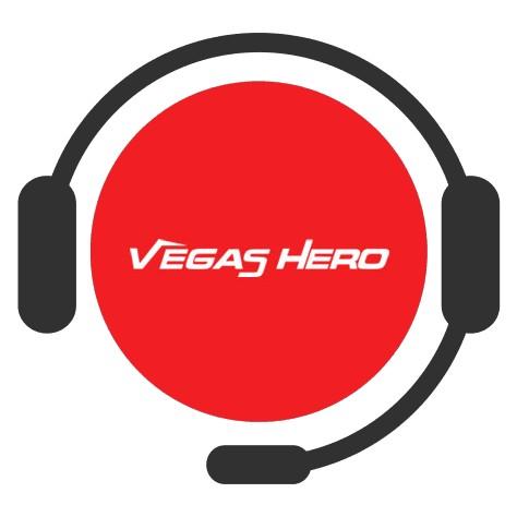 Vegas Hero Casino - Support