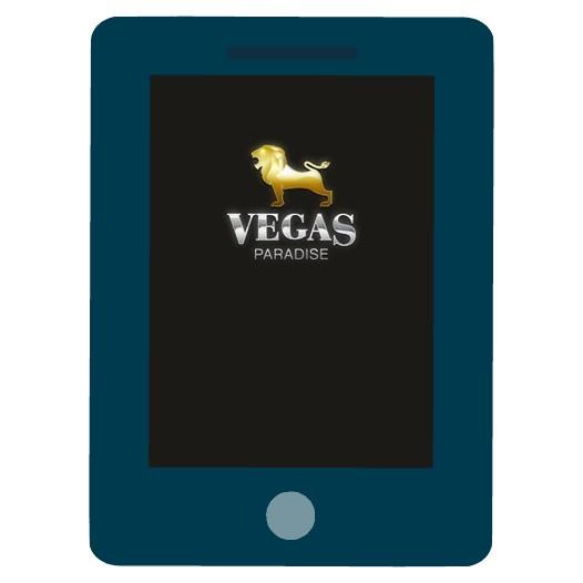 Vegas Paradise Casino - Mobile friendly