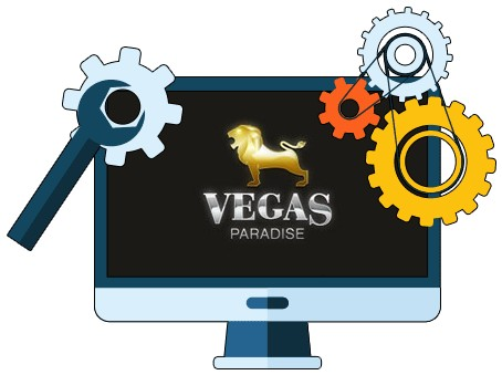 Vegas Paradise Casino - Software