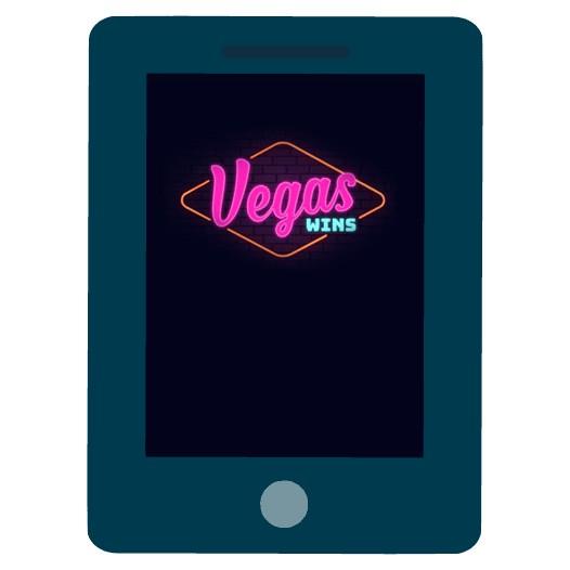Vegas Wins Casino - Mobile friendly