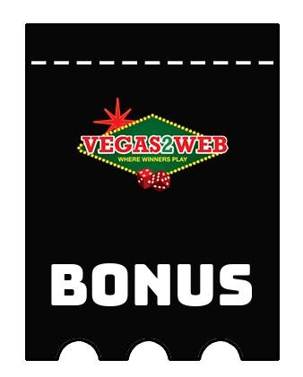Latest bonus spins from Vegas2Web Casino