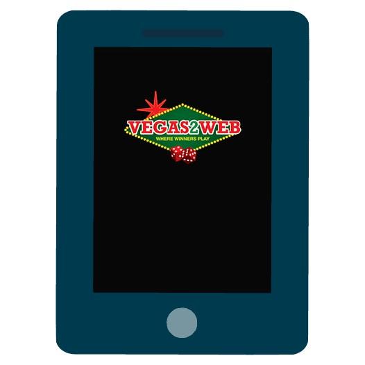 Vegas2Web Casino - Mobile friendly