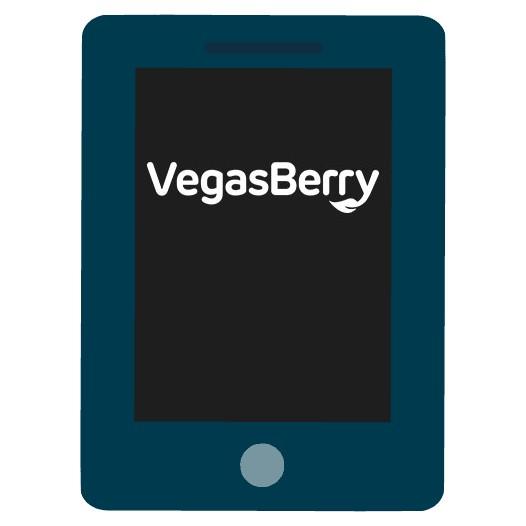 VegasBerry Casino - Mobile friendly