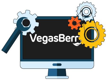VegasBerry Casino - Software