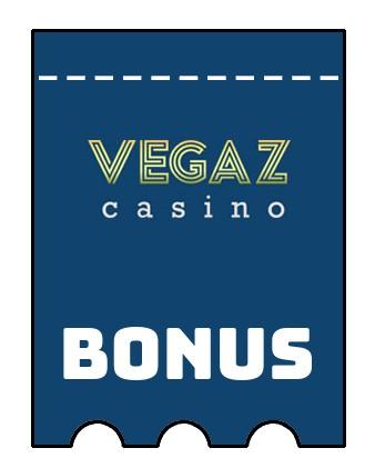 Latest bonus spins from Vegaz Casino