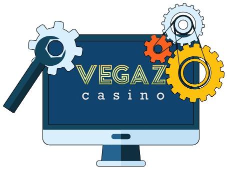 Vegaz Casino - Software