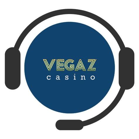 Vegaz Casino - Support