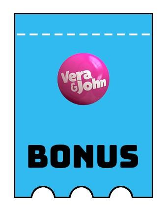 Latest bonus spins from Vera and John Casino