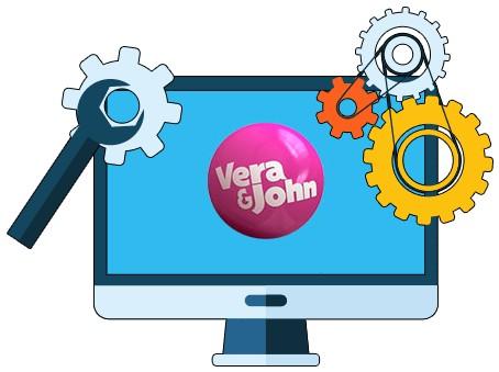 Vera and John Casino - Software