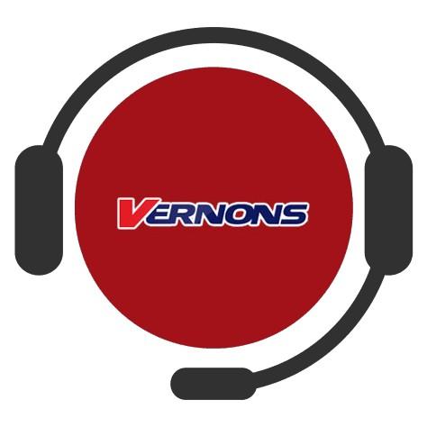Vernons Casino - Support