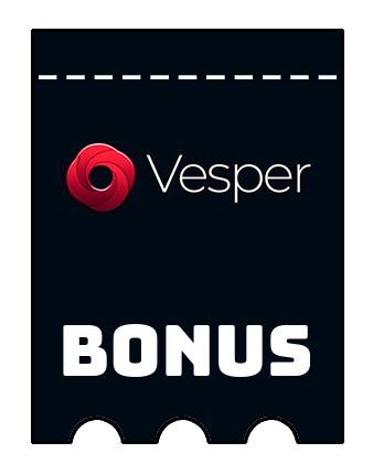 Latest bonus spins from Vesper Casino