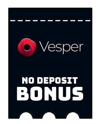 Vesper Casino - no deposit bonus CR