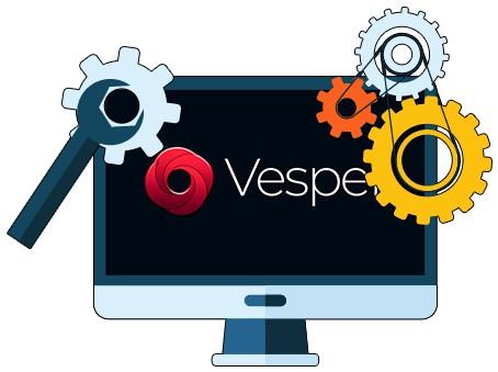 Vesper Casino - Software