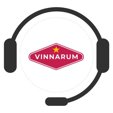 Vinnarum Casino - Support