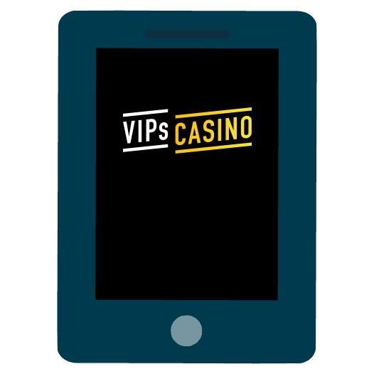 VIPs Casino - Mobile friendly