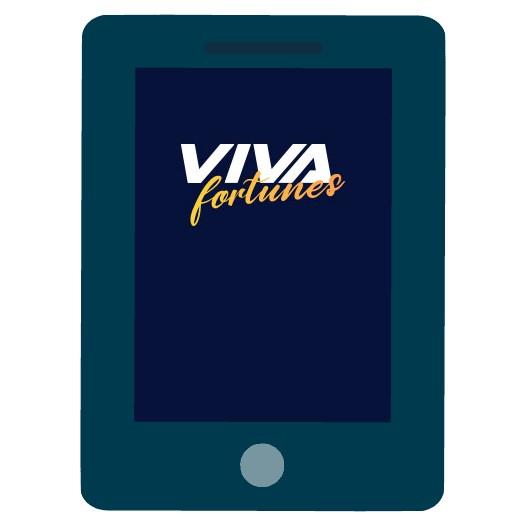 VivaFortunes - Mobile friendly