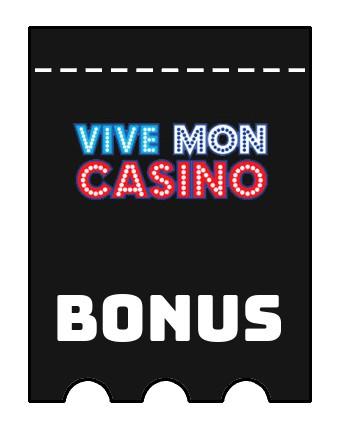 Latest bonus spins from Vive Mon Casino