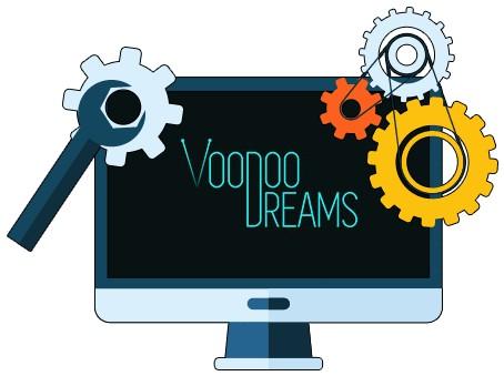 Voodoo Dreams Casino - Software