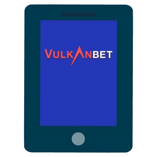 VulkanBet Casino - Mobile friendly
