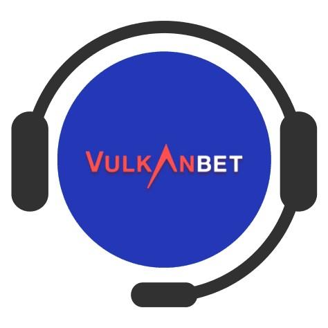VulkanBet Casino - Support