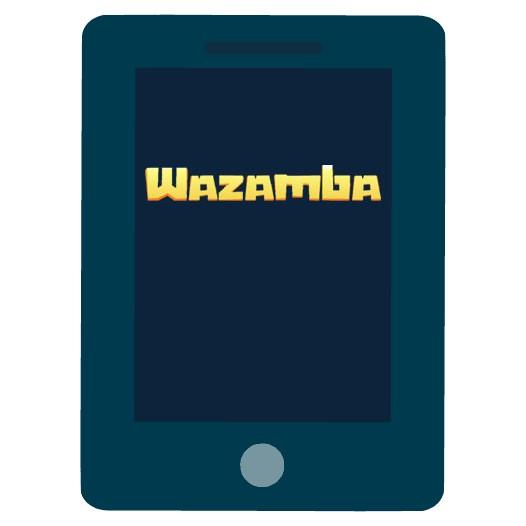 Wazamba Casino - Mobile friendly