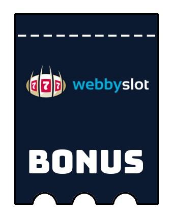 Latest bonus spins from Webbyslot Casino