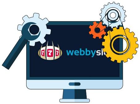 Webbyslot Casino - Software