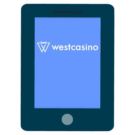 WestCasino - Mobile friendly