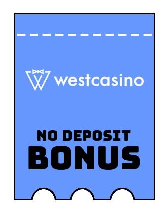 WestCasino - no deposit bonus CR