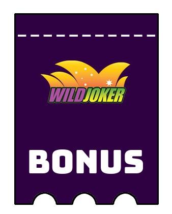 Latest bonus spins from Wild Joker