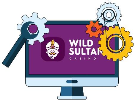 Wild Sultan Casino - Software