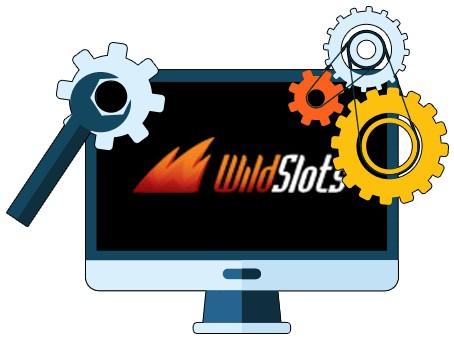 WildSlots Casino - Software