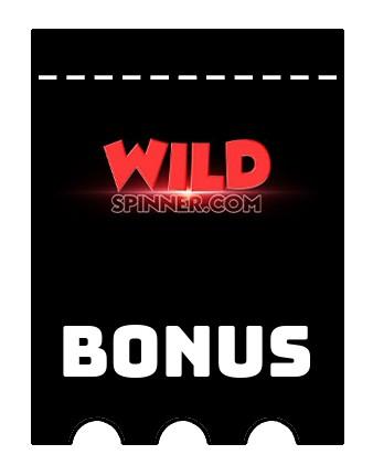 Latest bonus spins from WildSpinner