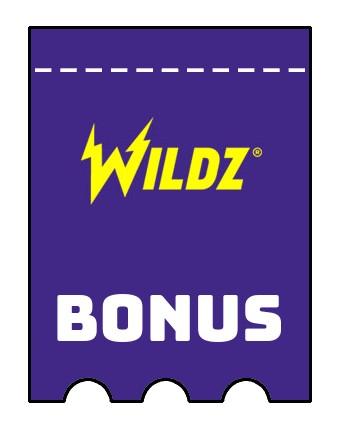 Latest bonus spins from Wildz