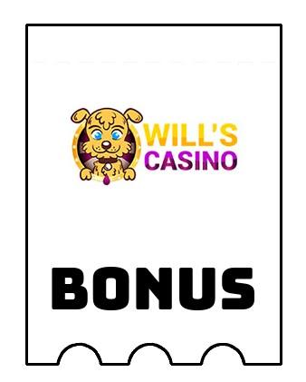 Latest bonus spins from Wills Casino