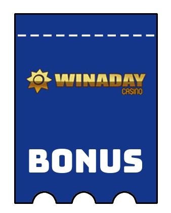 Latest bonus spins from Winaday Casino