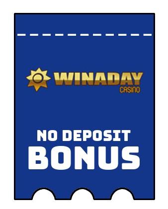 Winaday Casino - no deposit bonus CR