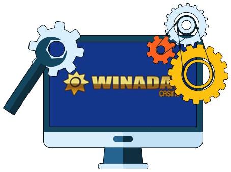 Winaday Casino - Software