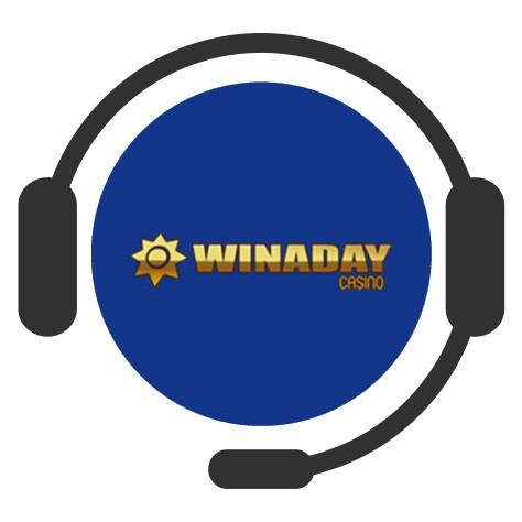 Winaday Casino - Support
